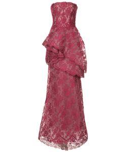 Monique Lhuillier | Многослойное Кружевное Платье