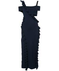 Jason Wu | Cut-Out Ruffle Trim Dress Size Large