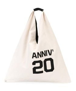 MM6 by Maison Margiela | Mm6 Maison Margiela Anniv 20 Tote Leather/Cotton/Polyester