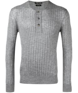 Tom Ford | Ribbed Buttoned Jumper Size 52