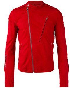 Rick Owens | Asymmetric Zip Detail Jacket 48 Lamb