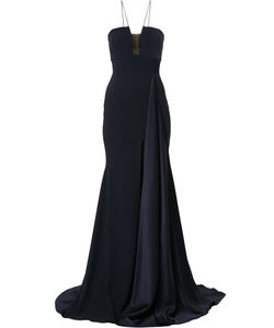 ALEX PERRY | Ryland Long Draped Gown Women