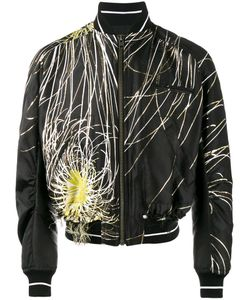 Haider Ackermann | Embroide Bomber Jacket Small Polyester/Silk/Cotton/Rayon