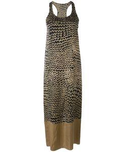 UMA WANG | Платье Шифт С Контрастной Панелью