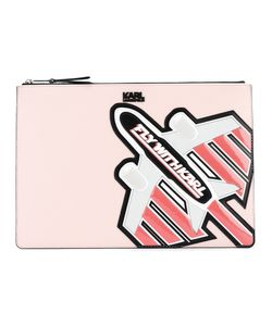 Karl Lagerfeld | Fly With Karl Clutch Polyvinyl
