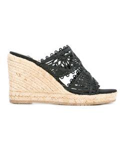 Paloma Barceló | Wedge Sandals 36 Raffia/Rubber