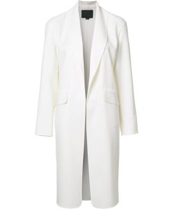 Alexander Wang | Shawl Collar Coat Xs Spandex/Elastane/Virgin Wool