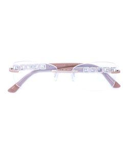 Bulgari | -Tone Logo Temple Glasses
