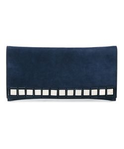 TOMASINI | Mirror Embellished Clutch Suede