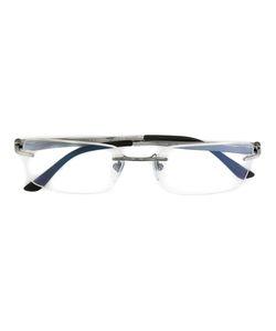 Bulgari | Rectangular Frame Glasses Metal Other/Rubber
