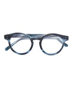 Linda Farrow | Round Frame Sunglasses Acetate