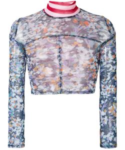 ECKHAUS LATTA | Print Cropped Top Men