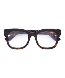 Gucci Eyewear | Tortoiseshell Square Frame Glasses