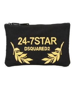 Dsquared2 | 24-7 Star Clutch Bag Copper/Cotton