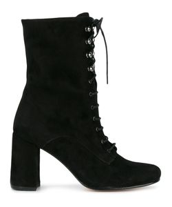 Maryam Nassir Zadeh | Lace-Up Emannuel Boots 37 Suede/Leather