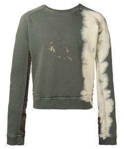 Haider Ackermann | Bleached Trim Sweatshirt Size Large