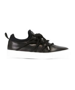 Alejandro Ingelmo | Laced Sneakers 39 Calf Leather/Leather/Rubber