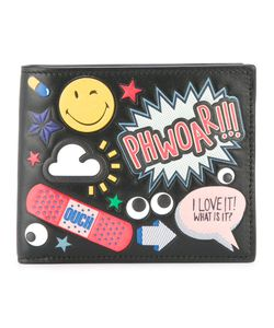 Anya Hindmarch | All Over Stickers Cardholder Calf Leather