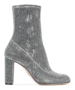 Oscar Tiye | Giorgia Ankle Boots Size 39.5 Leather Fibre