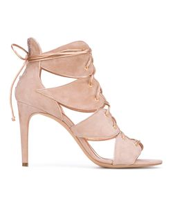 Jean-Michel Cazabat | Lace-Up Heart Sandals