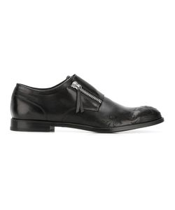 Alexander McQueen | Embroide Monk Shoes 42 Calf Leather/Leather