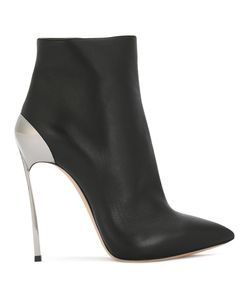 Casadei | Techno Blade Ankle Boots Women Calf Leather/Leather/Nappa