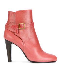 Michel Vivien | Buckle Strap Detail Ankle Boots