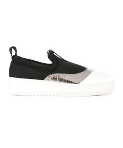 Mcq Alexander Mcqueen | Panel Sneakers 40 Rubber/Leather/Neoprene