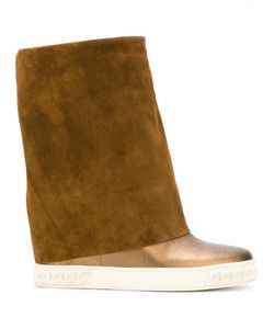 Casadei | Concealed Platform Boots Women Nappa Leather/Calf