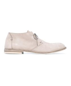 Pantanetti | Ankle Desert Boots 42 Suede/Leather/Rubber
