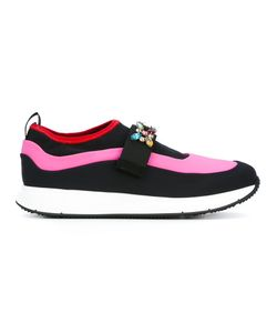 Carshoe | Car Shoe Embellished Slip-On Trainers