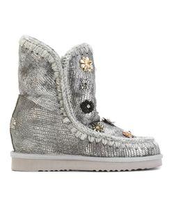 Mou | Декорированные Зимние Ботинки