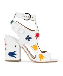Laurence Dacade | Naton Applique Sandals 40.5 Leather