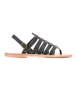 K. Jacques | Homer Strappy Sandals 43 Leather