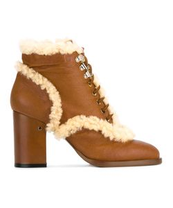Laurence Dacade | Manushka Ankle Boots 36 Sheep Skin/Shearling/Leather
