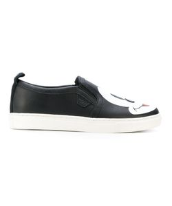 MOA MASTER OF ARTS | Mickey Print Slip-On Sneakers Women