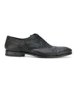 HENDERSON BARACCO | Woven Lace-Up Shoes