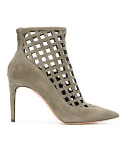 Jean-Michel Cazabat | Cut-Out Pointed Ankle Boots