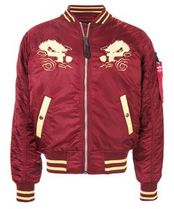 Alpha Industries   Куртка-Бомбер С Вышивкой Japan