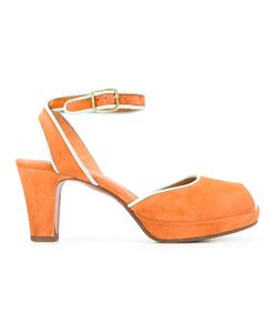 Chie Mihara | Inara Sandals 37 Calf Leather/Calf Suede/Rubber/Leather