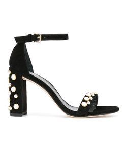 Stuart Weitzman | Pearl Embellished Sandals Size 39