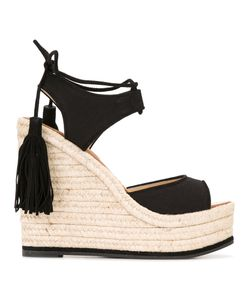 Paul Andrew | Tassel Wedge Sandals Size 39