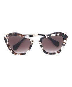 Miu Miu Eyewear   Солнцезащитные Очки С Мраморным Узором