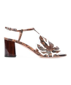 Rochas | Chunky Heel Sandals Size 38