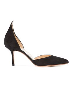 FRANCESCO RUSSO | Open Laterals Pumps 38 Suede/Leather