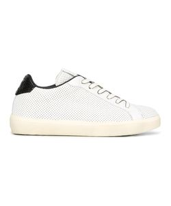 Leather Crown | Lace-Up Sneakers 40 Cotton/Leather/Rubber
