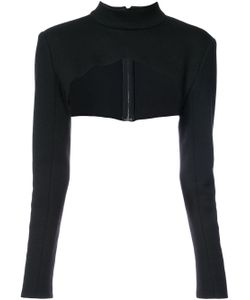 SALLY LAPOINTE | Long-Sleeved Bolero Top