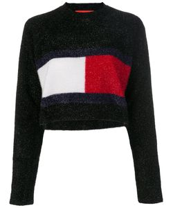 Hilfiger Collection | Lurex Flag Sweatshirt Women