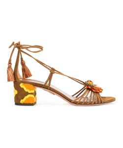 Aquazzura   Samba Sandals Size 38