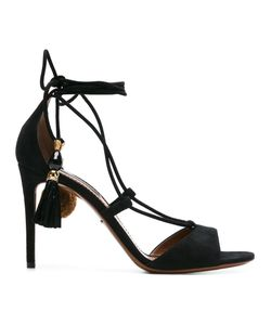 Dolce & Gabbana | Tasseled Sandals 36.5 Leather/Suede
